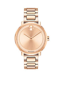 Women's Rose Gold Sugar Watch