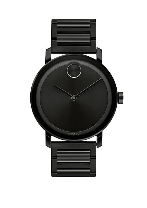 Stainless Steel Bold Bracelet Watch