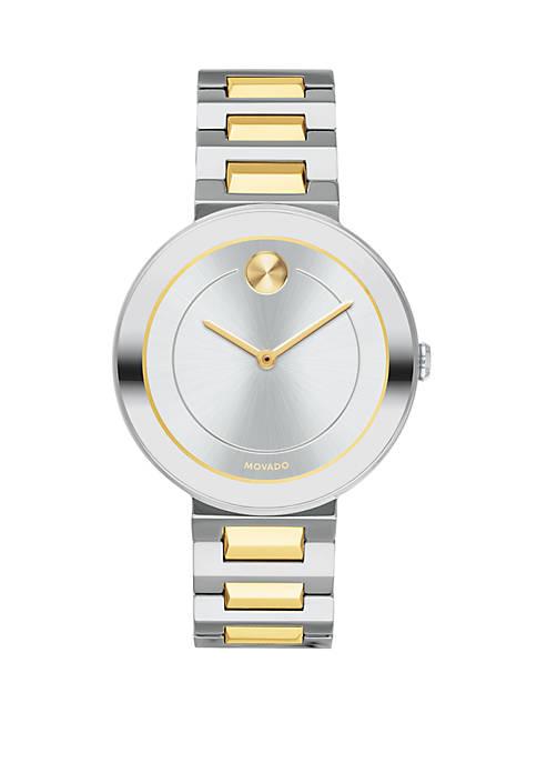 Bold Gray Tone Watch