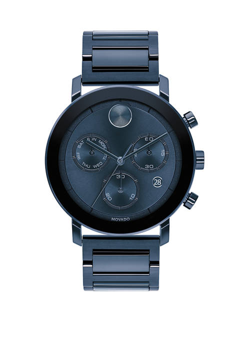 Mens Stainless Steel BOLD Bracelet Watch