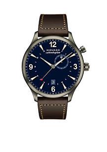 Men's Heritage Series Calendoplan GMT Watch