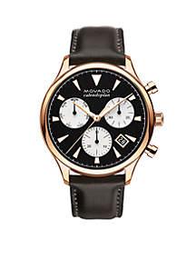 Men's Heritage Series Calendoplan Chronograph Watch