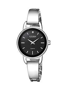 Quartz Stainless Steel Watch with Swarovski® Crystal