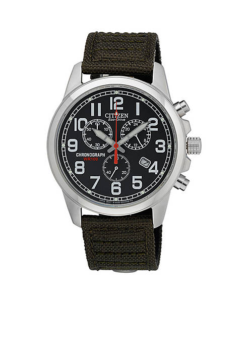 Eco-Drive Mens Sport Strap Watch