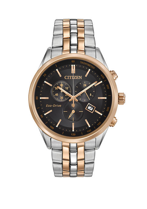 Citizen Corso Mens 2-Tone Bracelet Watch