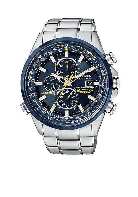 Citizen Eco-Drive Blue Angels World Chronograph A-T Watch