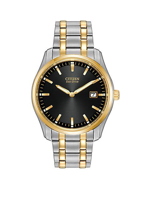 Citizen Eco-Drive Mens Dress Bracelet Watch