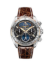 Eco-Drive Men's Signature Moon Phase Flyback Watch - Online Only