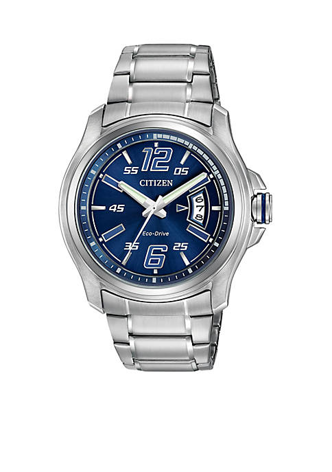 Mens Drive From Eco-Drive Stainless Steel Watch