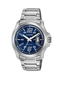 Men's Drive From Eco-Drive Stainless Steel Watch
