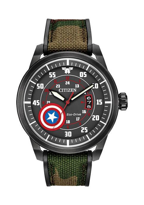Citizen Captain America Strap Watch