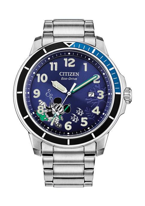 Mickey Water Sport Bracelet Watch