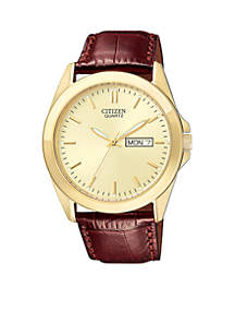 Quartz Men's Strap Watch