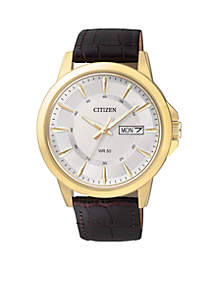 Citizen Men's Quartz Gold-Tone Stainless Steel Watch