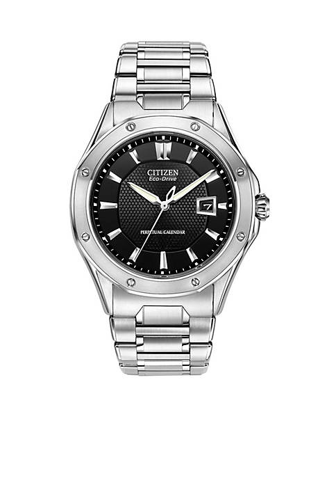 Citizen Eco-Drive Mens Signature Octavia Perpetual with