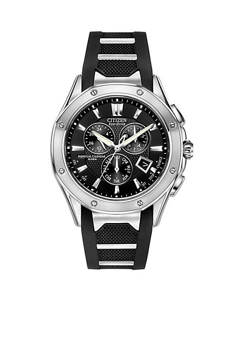 Citizen Eco-Drive Mens Signature Octavia Perpetual Multi-Function