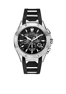 Citizen Eco-Drive Men's Signature Octavia Perpetual Multi-Function Chronograph - Online Only
