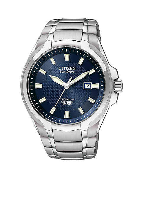 Mens Titanium Watch