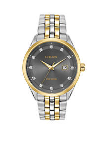 Citizen Men's Two-Tone Stainless Steel Eco-Drive Corso Watch With Date