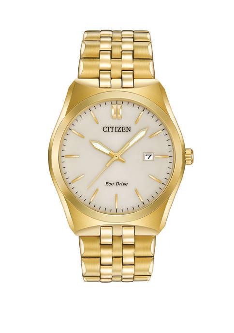 Citizen Corso Mens Gold Tone Bracelet Watch