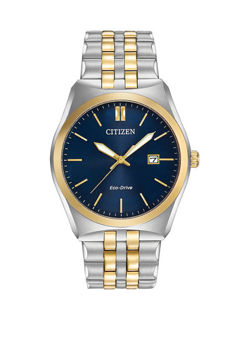 Citizen Corso Mens 2 Tone Bracelet Watch