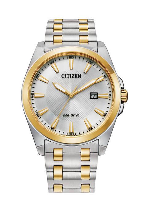 Citizen Mens Corso Two Tone Stainless Steel Bracelet