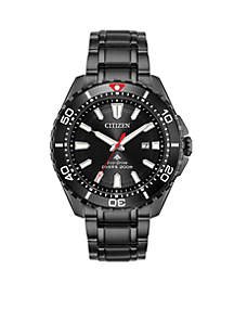 Citizen Men's Citizen Eco-Drive® Promaster Diver Black IP Watch