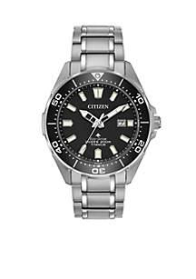 Men's Eco-Drive Promaster Diver Super Titanium Bracelet Watch