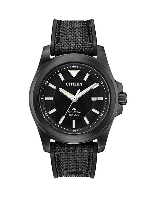 Citizen Eco-Drive Promaster Tough Black Fabric Strap Watch