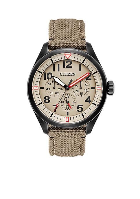 Citizen Mens Eco-Drive Chandler Cordura Strap Watch