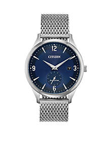 Citizen Stainless Steel Blue Dial Drive Watch