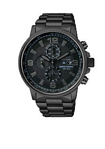Eco-Drive Men's Ion Plated Watch