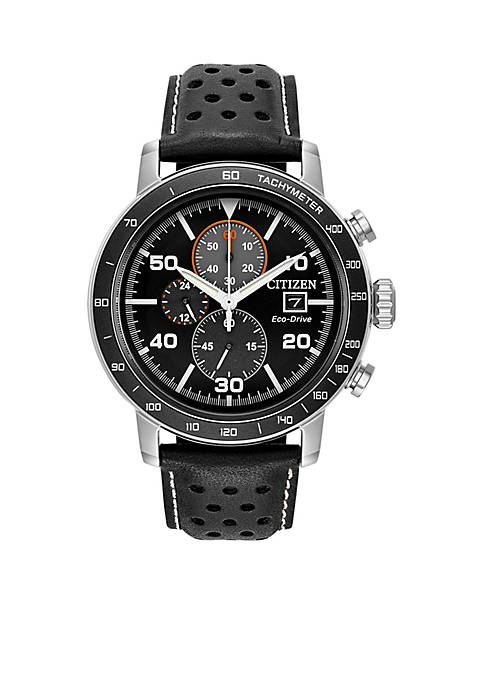 Mens Citizen Eco-Drive Brycen Chronograph Watch