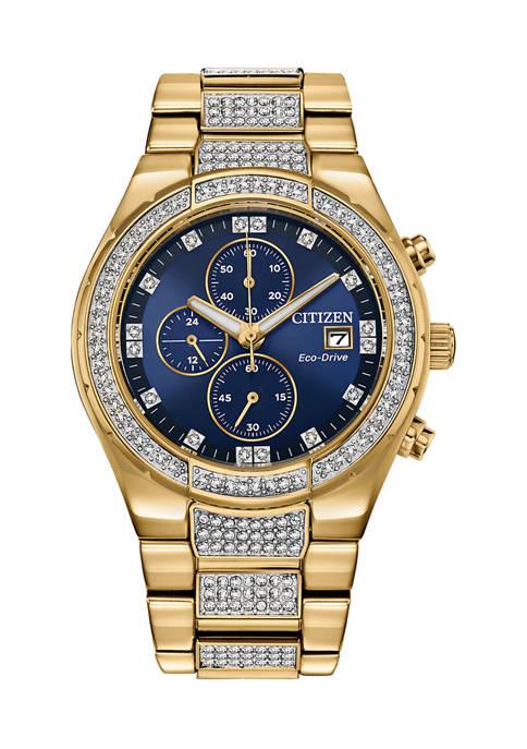 Swarovski® Crystal Eco-Drive Watch