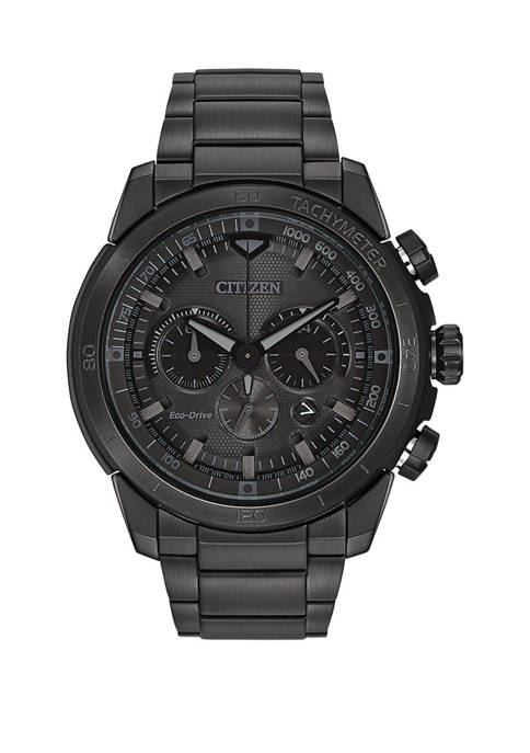 Citizen Mens Ecosphere Black Bracelet Watch