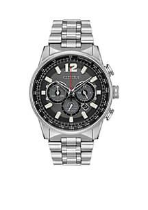 Men's Stainless Steel Eco Drive Bracelet Watch