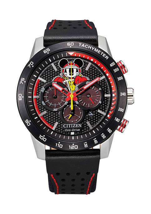 Mickey Racer Strap Watch