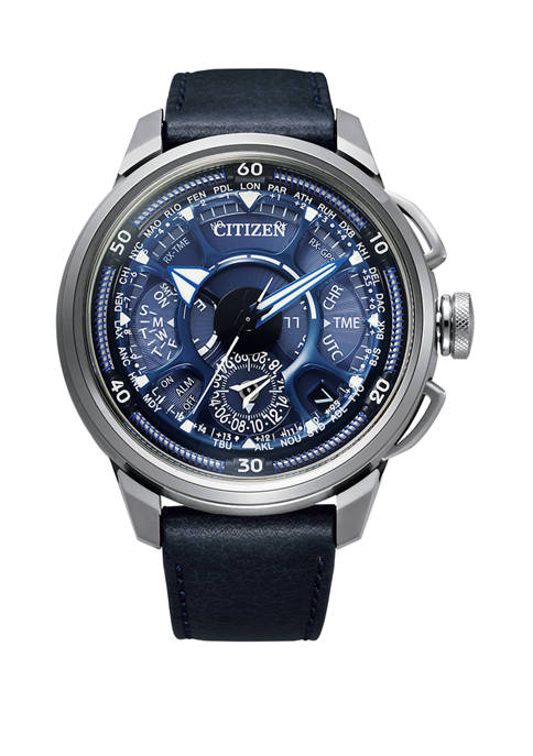 Mens Limited Edition Eco Drive Satellite GPS Watch