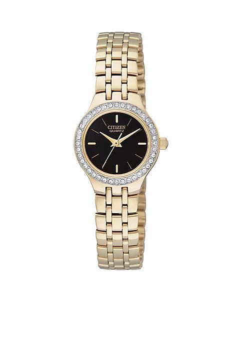 Citizen Women S Gold Tone Quartz Watch Belk