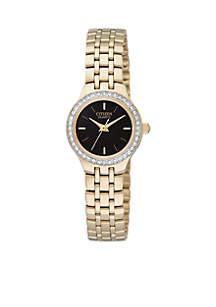Women's Gold-Tone Quartz Watch