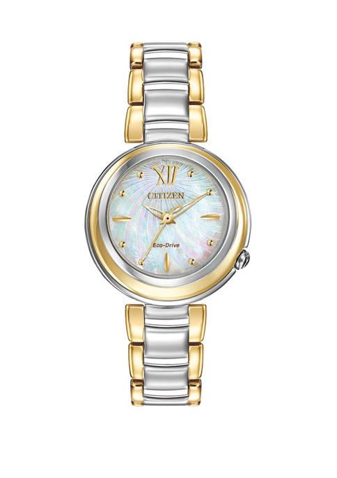 Citizen L Sunrise Ladies Two Tone Bracelet Watch
