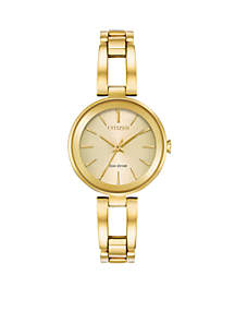 Gold-tone Stainless Steel Watch