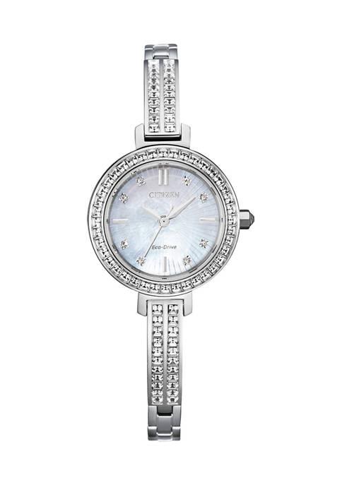 Citizen Swarovski® Silhouette Crystal Watch