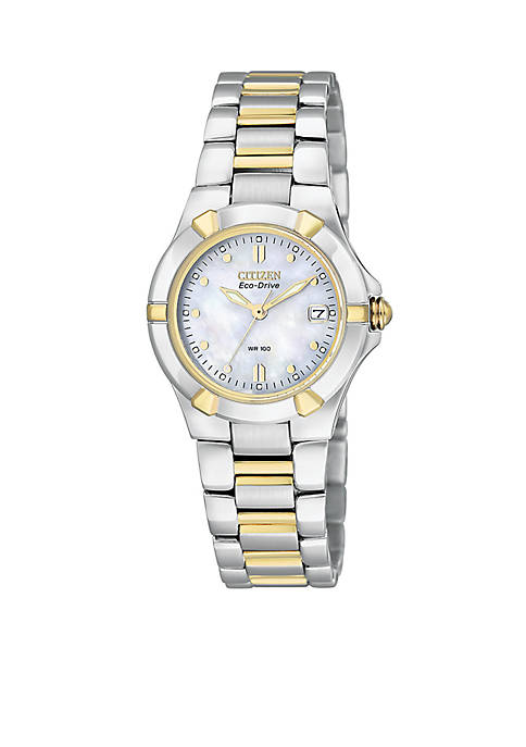 Citizen Womens Eco-Drive Riva Watch with Mother of