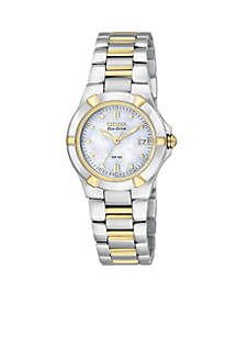 Women's Eco-Drive Riva Watch with Mother of Pearl Dial - Online Only