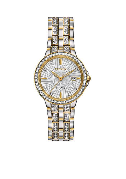Womens Two-Tone Watch