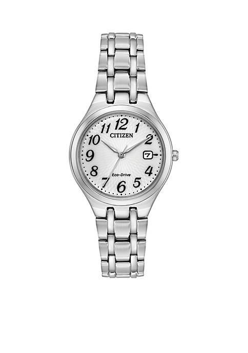 Citizen Womens Stainless Steel Eco Drive Bracelet Watch