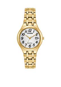 Women's Two-Tone Stainless Steel Eco Drive Bracelet Watch