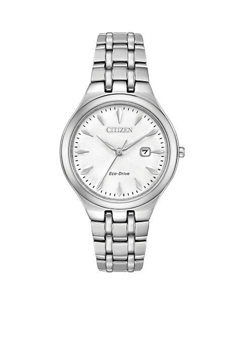 Citizen Womens Stainless Steel Eco Drive Bracelet Watch