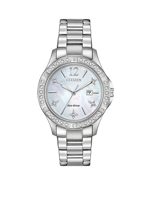 Citizen Silver-tone Stainless Steel Analog Watch